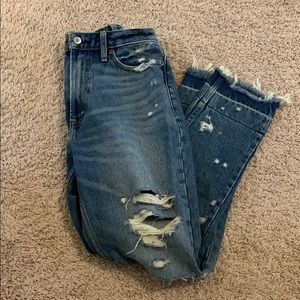 Abercrombie & Fitch girlfriend jeans